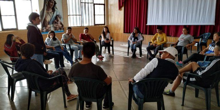 Acampadas Proyectos de Vida I y II en Cochabamba